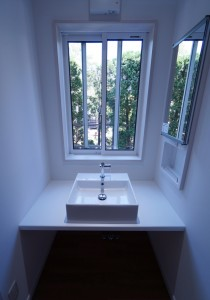 1階洗面スペース