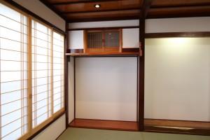 1階正面の和室